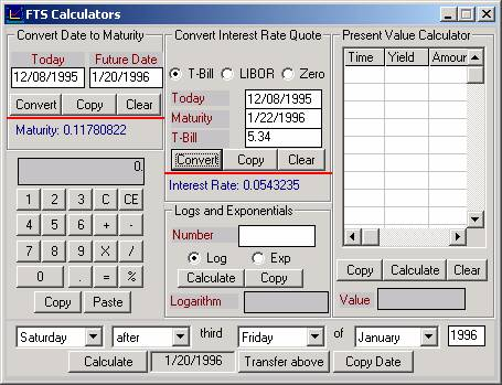 Option Calculator and Implied Volatilities
