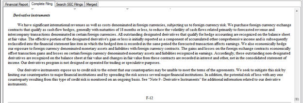 foreign currency translation essay